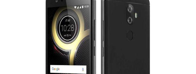 Lenovo K8 Plus, dual camera e Android stock