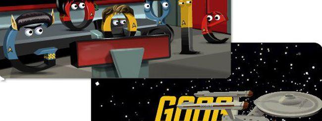 Un doodle per Star Trek