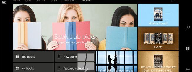Windows 10, in arrivo un ebook store