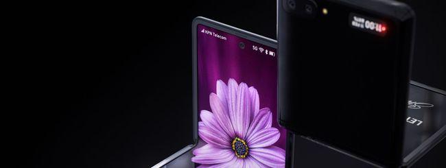 Samsung Galaxy Z Flip, vetro ultra sottile?