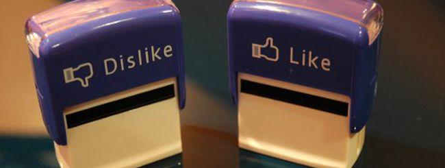 """Perché Facebook potrebbe non inserire mai il """"Non mi piace"""""""