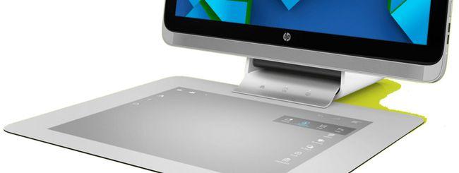HP Sprout: PC futuristico senza mouse e tastiera