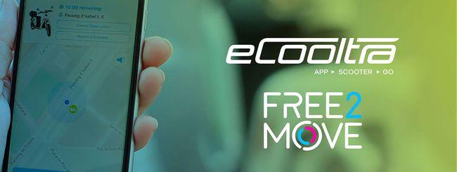 eCooltra sbarca su Free2Move a Milano e Roma