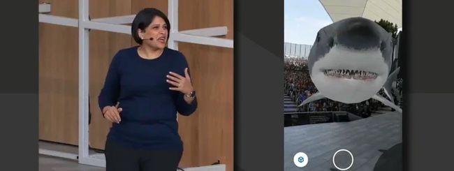 Google I/O: la ricerca fa un passo nell'AR