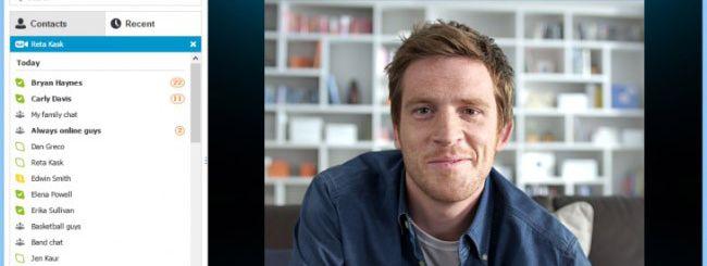 Skype per Windows 8, video chiamate full HD