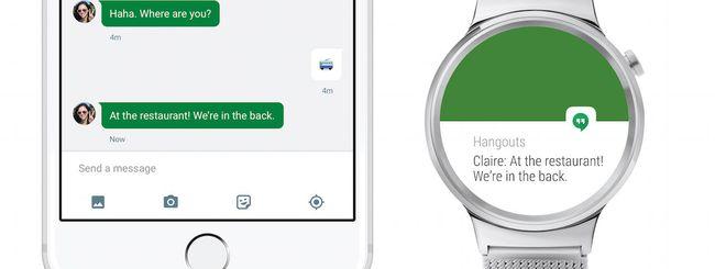 Android Wear è ufficialmente compatibile con iOS