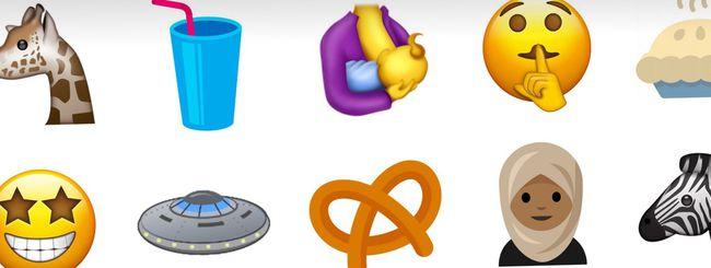 Unicode 10: in arrivo 51 nuove emoji