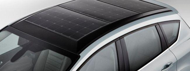 Ford C-MAX Solar Energi, ricarica con il sole