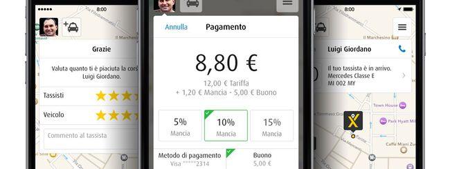 Mytaxi sbarca a Milano e sfida Uber