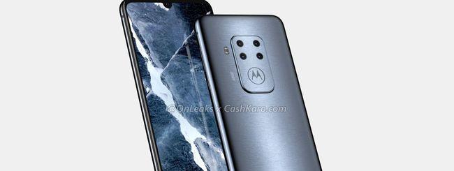 Smartphone Motorola con 4 fotocamere posteriori?