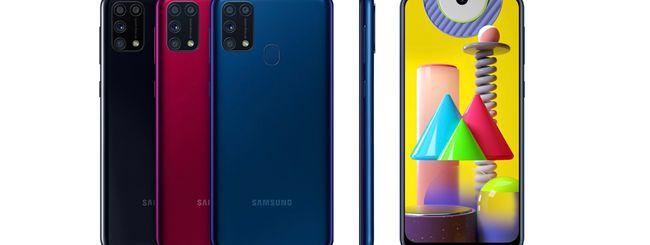 Samsung Galaxy M31, al via i pre-ordini in Italia