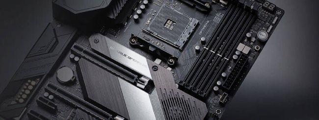 Asus AM4 300 e 400 compatibili con i Ryzen 3000