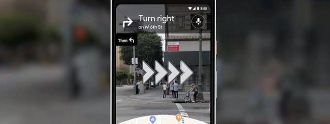 Google Maps, funzionalità AR provata dai tester