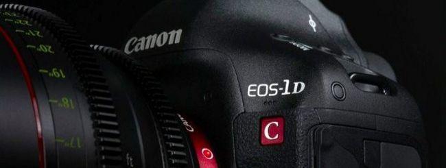 Canon EOS-1D C, arrivano i video in 4K a 25p