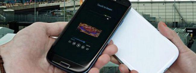 Samsung Galaxy S3 nero, solo un'illusione ottica
