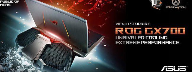 ASUS ROG GX700 arriva sul mercato italiano