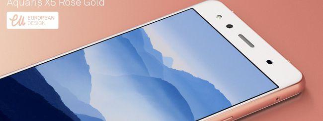 BQ Aquaris X5, smartphone per San Valentino
