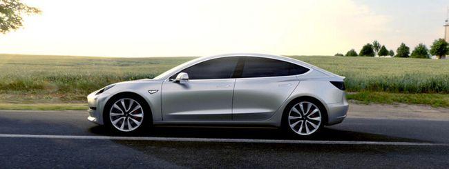 Tesla Model 3 in pre-produzione il 20 febbraio