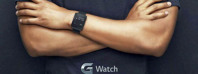 LG G Watch con Android Wear: prezzo e uscita