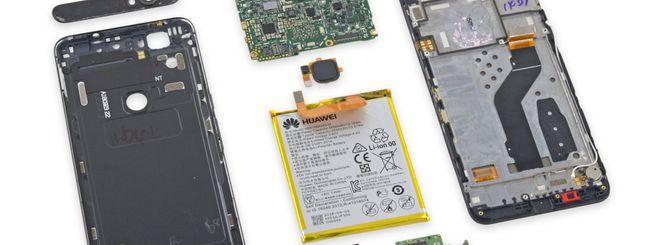 Google Nexus 6P, un trionfo di colla