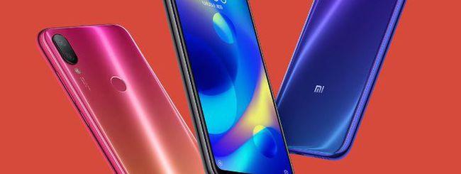 Xiaomi Mi Play, schermo waterdrop da 5,84 pollici