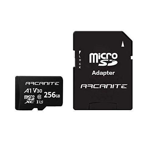 ARCANITE, 256 GB MicroSDXC scheda di memoria con adattatore