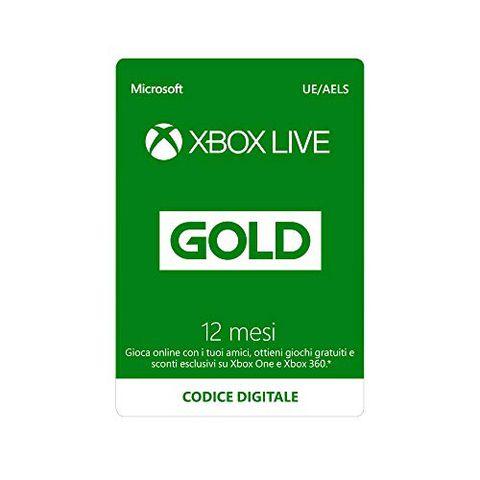 Abbonamento Xbox Live Gold (12 Mesi)