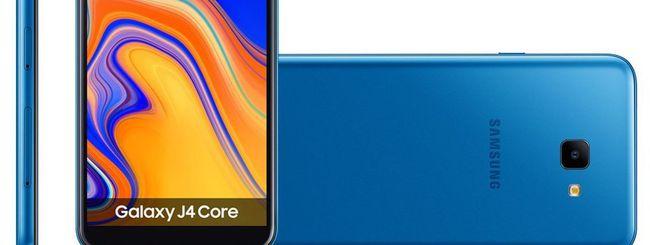 Galaxy J4 Core, secondo modello con Android Go?