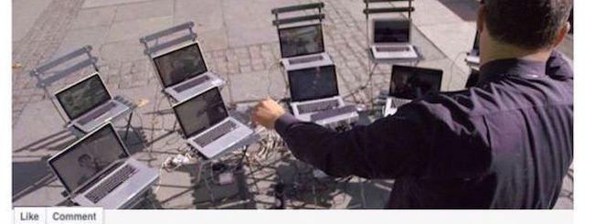 Skype, un'orchestra di MacBook per l'ultimo spot Microsoft