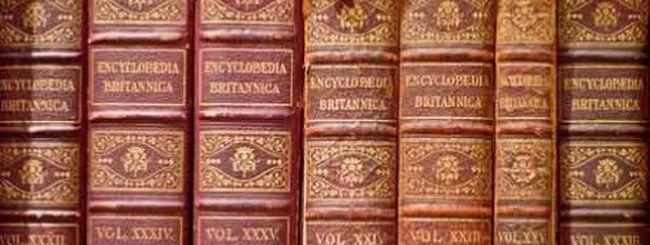 L'enciclopedia Britannica chiude, ma vivrà sul Web