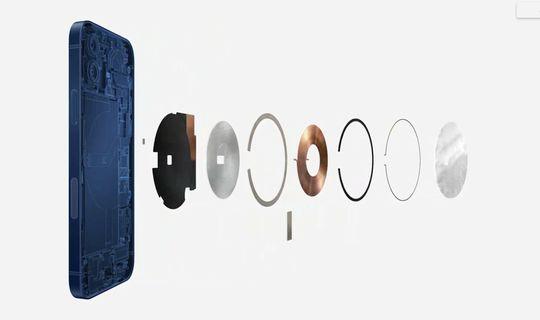 Magsafe per iPhone: sistema di aggancio magnetico