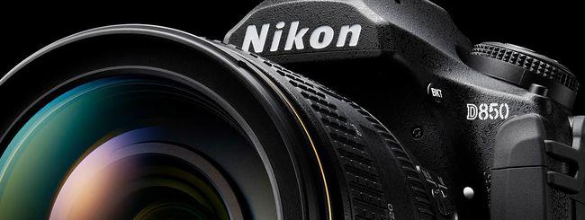Il sensore della D850 è progettato da Nikon