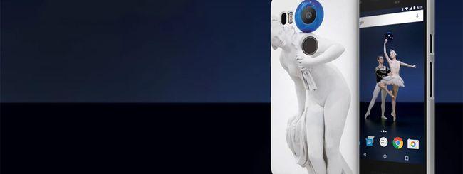 Jeff Koons e le custodie Live Case per Nexus