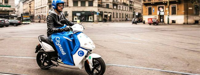 Cityscoot, i motorini elettrici arrivano a Milano