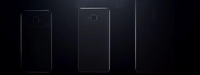 ASUS ZenFone 3, primo video con tre smartphone