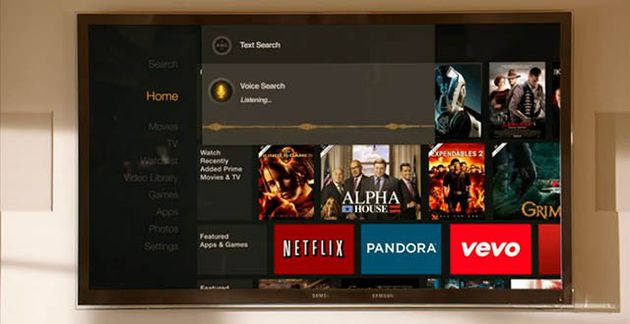 Ricerca vocale su Amazon Fire TV