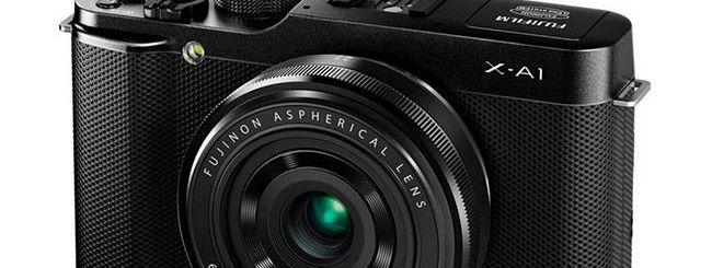 Fujifilm X-A1, ecco la nuova mirrorless economica