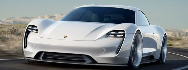Porsche Mission E: 3 varianti e sino a 670 cavalli