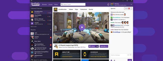 Twitch rilascia l'applicazione desktop