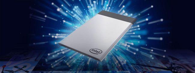 Intel Compute Card da agosto in quattro versioni