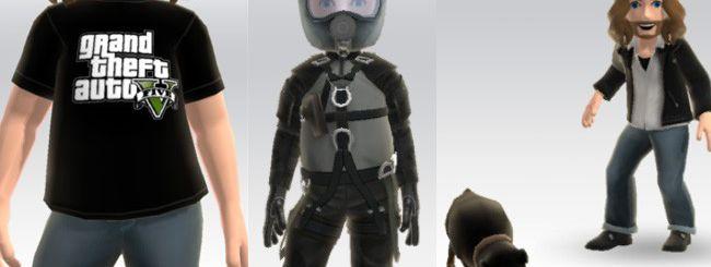 GTA 5, avvistati oggetti per gli avatar Xbox Live