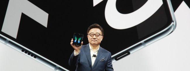Samsung ha venduto circa 500.000 Galaxy Fold