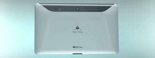 Google Project Tango: ecco il tablet