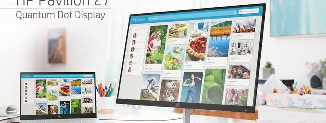 HP, gli annunci display, notebook e gaming del CES