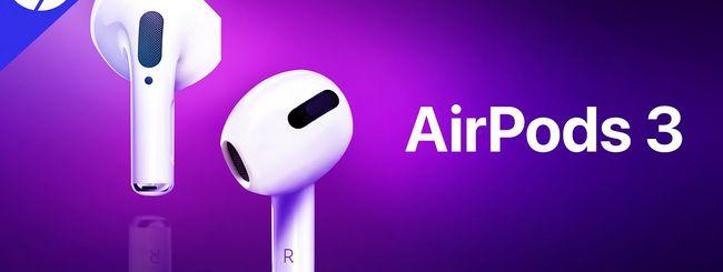 AirPods 3, contrordine: rimandate a fine anno [Agg.]