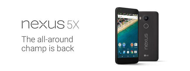 Google Nexus 5X, le specifiche ufficiali