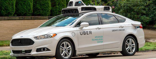 La guida autonoma di Uber tornerà in California