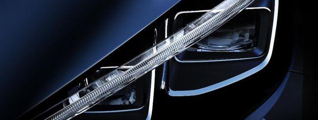 Nissan Leaf, primo teaser del nuovo modello