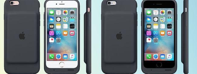 iPhone 6S: Apple lancia un case con batteria