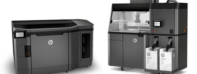 HP Jet Fusion 3D Printing Solution e manufacturing